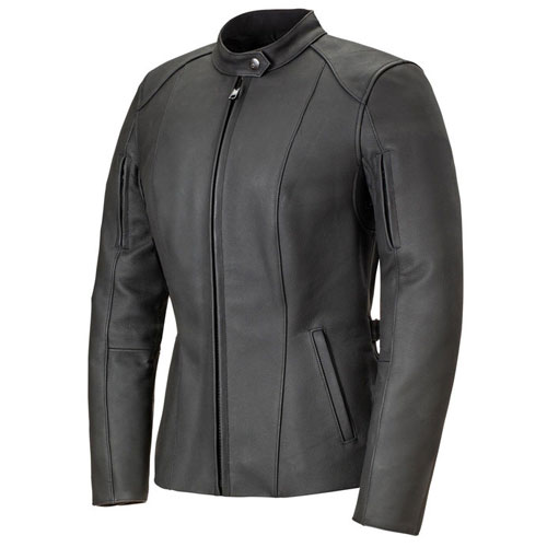 Capsule Ladies Motorbike Leather Jacket MJW716