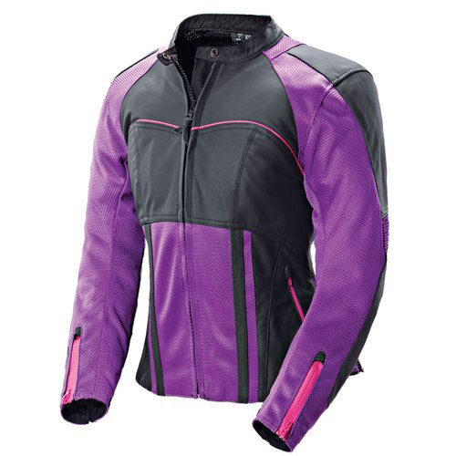 Crawford Ladies Motorbike Leather Jacket MJW717