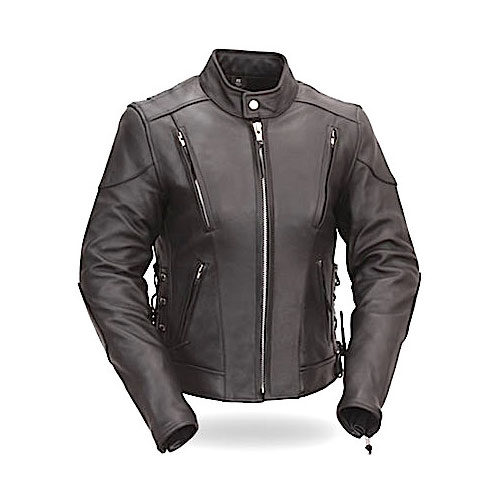 Fitzberg Ladies Motorbike Leather Jacket MJW712