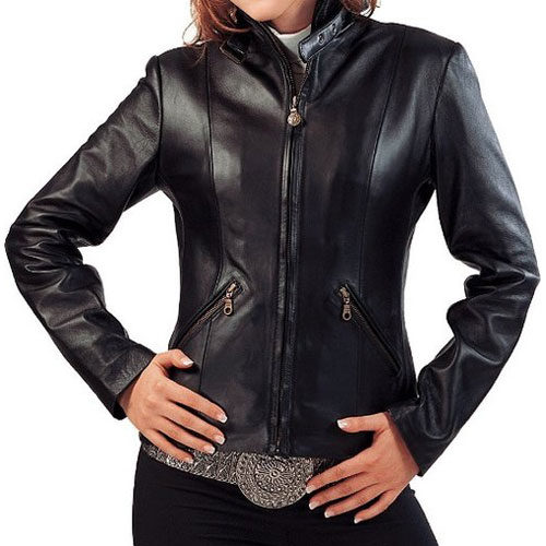 Nadia Ladies Motorbike Leather Jacket MJW721
